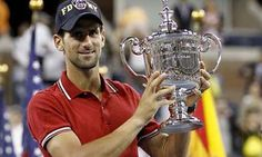 Novak Djokovic 2011 Us Open Champion