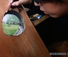 Ivan Hoo HyperRealistic Wood Art  Lazer Horse