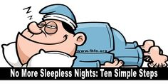 No More Sleepless Nights: Ten Simple Steps   Family Health Freedom Network