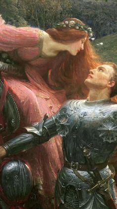 Frank Dicksee, Renaissance Kunst, Die Renaissance, Renaissance Paintings, Victorian Paintings, Victorian Art, Art Ancien, Old Paintings, Classic Paintings