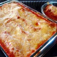 Cannelloni met drie soorten vlees @ allrecipes.nl