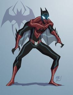 DC/Marvel Mash-up Spider-Bat (Batman/Spider-Man) - Eric Guzman