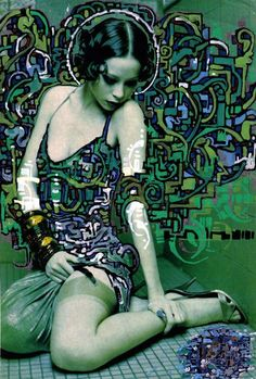 El Mac & Retna -  I think this piece succinctly wraps up man's eternal conflict between eros and the divine.