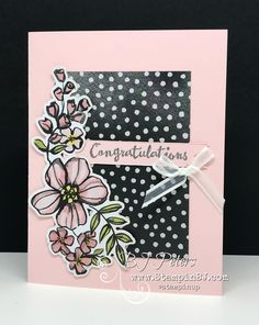 Résultats de recherche d'images pour «cartes petal palette stampin up»