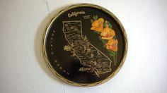 Vintage Golden Poppy California Souvenir by CassandrasNotebook