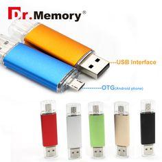 Dr.Memory USB Flash Drive OTG Pen Drive 64GB Full Capacity Smart Phone OTG Flash 32GB 16GB Memory U Stick OTG external storage