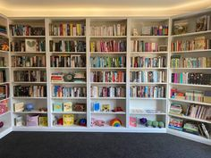 How a Little Idea Became a Little Library Library Shelves, Wall Bookshelves, Wall Shelves, Shelving, Ikea Billy Bookcase Hack, Skirting Boards, Little Library, 7 Months, Cabinet Makers
