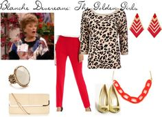 """""""Blanche Devereaux: The Golden Girls"""" by alexandra-mccreary on Polyvore"""
