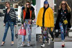 ¡Las reinas del streetstyle ya dominan el look en tendencia! Fotos: Pinterest.