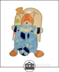 Doudou Marionnette RENARD bleu orange BABY NAT et bébé Papillon  ✿ Regalos para recién nacidos - Bebes ✿ ▬► Ver oferta: http://comprar.io/goto/B003CBVUFS