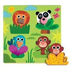 Djeco knoppuslespil i træ, jungle næsedyr Puzzles, Healthy Chicken Nuggets, Minimalist Christmas, Crafts For Kids, Diy Crafts, Wood Toys, Baby Room Decor, Toy Boxes, Diy Projects To Try
