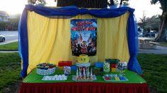 Lego candy buffet