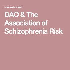 DAO & The Association of Schizophrenia Risk