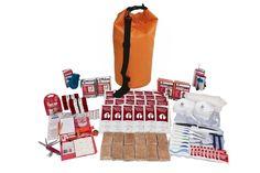 2 Person Deluxe Survival Kit w/ Waterproof Bag