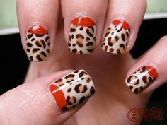 Seriously, I adore this mani. I need to sit down and ATTEMPT to copy it.