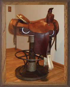 Casey Has Two Saddles, This Would Be The Perfect Way To Have Them In The