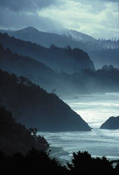 Washington Coast. Right near Deception Pass where mi casa was. I miss Whidbey Island!