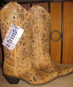Rivertrail Mercantile - Corral Boots Antique Saddle Brushed Laser, (http://www.rivertrailmercantile.com/corral-boots-antique-saddle-brushed-laser/)