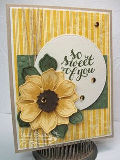 Stampin' Up! Beautiful Bunch, It's a Stamp Thing: Sweet Sunday......so sweet of you