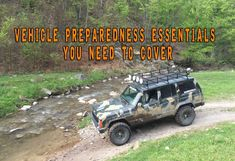 Vehicle Preparedness Essentials You Need To Cover Survival Supplies, Survival Food, Outdoor Survival, Survival Knife, Survival Prepping, Survival Skills, Survival Hacks, Get Home Bag, Beach Cars