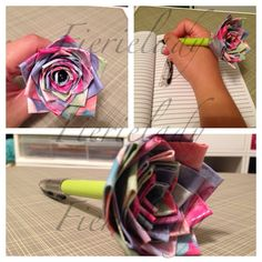 Duct tape crafts ; fierielady crafts; duct tape rose