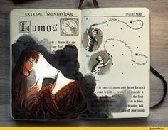 art,арт,красивые картинки,Гарри Поттер (книга),книги,Гарри Поттер,фильмы,Gabriel Picolo