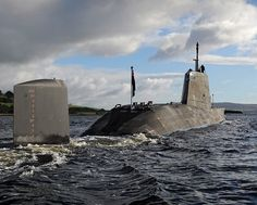 Ambush, the second of the Royal Navy's potent new Astute Class attack…