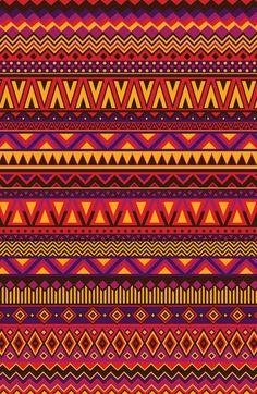 Aztec Pattern 2 Art Print