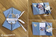 Gutschein-Babykarte für einen Jungen