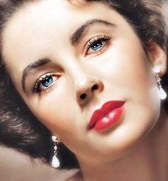 Elizabeth Taylor Eyes Earrings