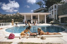 Slim Aarons was a photographer most known for photographing socialites, jet-setters and celebrities. At 18 years old, Aarons enlisted in th...
