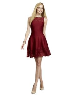 This The Limited dress is great for the holidays!T The color is very one trend for the season.