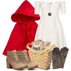 Lydia Inspired Halloween Costume (Little Red Riding Hood) by veterization on: Work Appropriate Halloween Costumes, Halloween Costumes For Teens, Diy Costumes, Costumes For Women, Costume Ideas, Halloween Decorations, Couples Halloween, Halloween Kostüm, Halloween Makeup