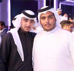 Zayed bin Maktoum bin Rashid Al Maktoum y su hermano, Ahmed bin Maktoum bin Rashid Al Maktoum, graduación de Ahmed, 18/05/2017. Vía: zayedbinmaktoum