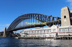 Sydney Harbour Bridge and Pier One