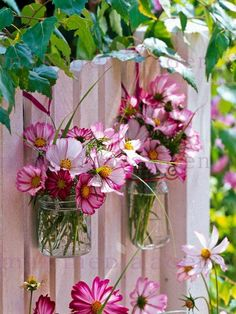 **Fence and flower bouquets!