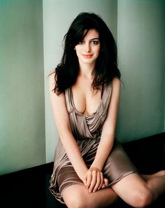 Yes, she's gorgeous. Love Anne Hathaway.