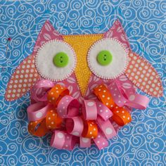 Owl Tag Toy