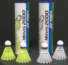 Mavis 2000 Nylon Tournament Shuttle-Yellow (1/2 dozen) by Yonex. $15.90. The top of the line Mavis 2000 has a stable and accurate flight characteristics simulating the real feather shuttlecocks