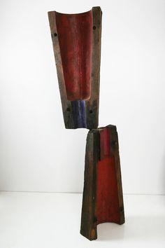 Madera, hierro y acero bajo ensamble y patinado. Autor: Frutos María.