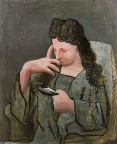 Woman reading ~ Pablo Picasso