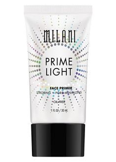 Enhance your complexion with a universally flattering glow. Milani Prime Light Strobing + Pore-Minimizing Face Primer blurs the look of pores and fine lines with soft focus pigments for brighter, smoother skin. Get Rid Of Pores, Minimize Pores, Best Drugstore Primer, Drugstore Makeup, Milani Cosmetics, Pore Strips, Shrink Pores, Face Primer, Strobing