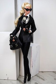 "version of ""Karl Lagerfeld"" doll..."