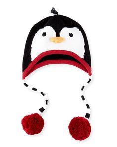 Kids Winter Hats Faux Fur Plush Animal Novelty Reindeer Christmas Bear Penguin