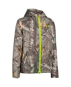 UA Storm gear uses a DWR finish to repel water without sacrificing breathability. Windproof construction shields you from the elements. Exclusive UA Scent Control technology lasts longer & works bette...