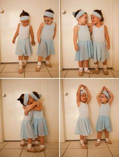 So cute, love the one with their arms up over their heads!