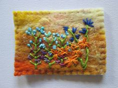 The Artist leaves a trading card. by Laura Glass on Etsy Small Words, Trading Cards, Leaves, Embroidery, Stitch, Tableware, Glass, Artist, Etsy