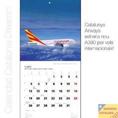 Un calendari mostra la Catalunya independent