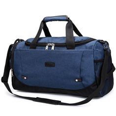 Scione Nylon Travel Bag Large Capacity Men Hand Luggage Travel Duffle Bags  Nylon Weekend Bags Women Multifunctional Travel Bags. Sports TrainingGym ... 66d6f9e113aae
