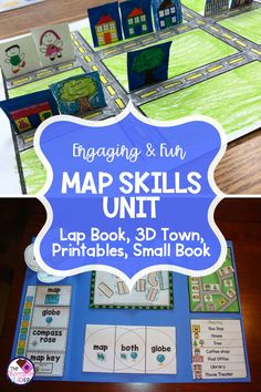 Teaching map skills to first graders is one of my favorite social studies units!… Teaching map skills to first graders Kindergarten Social Studies, Social Studies Worksheets, Social Studies Activities, Kindergarten Lesson Plans, Teaching Social Studies, 2nd Grade Social Studies Projects, Teaching Map Skills, Teaching Maps, 5th Grade Geography